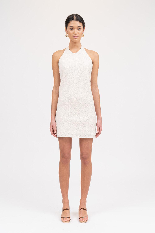 All The Feels Mini Dress Cream - Sentiment Brand