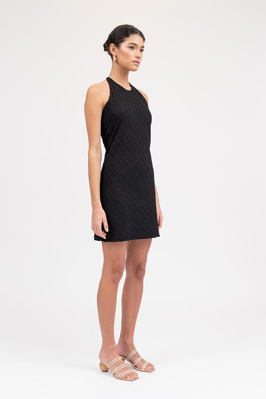 All The Feels Mini Dress Black - Sentiment Brand