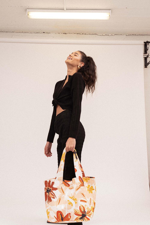 Sensation Long Sleeve Knit Top Black - Sentiment Brand