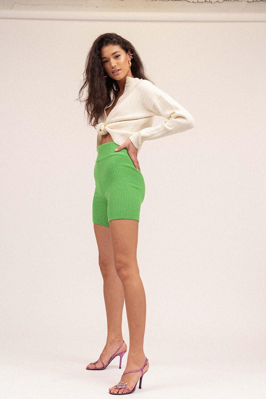 Love Knit Short Apple Green - Sentiment Brand