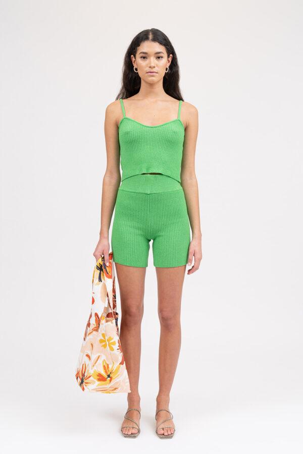 Love Knit Top Apple Green - Sentiment Brand