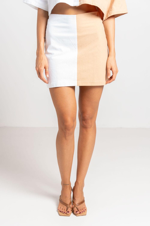 Pool Mini Skirt Two Tone - Sentiment Brand