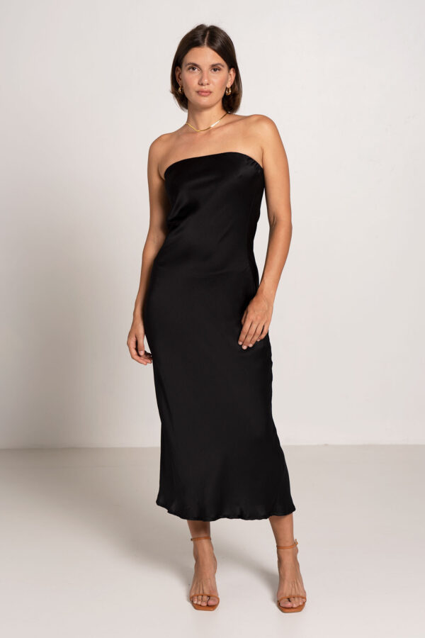 Oasis Tube Dress Black - Sentiment Brand